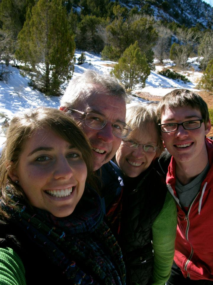 Christmas 2011 at Kolob Canyon.