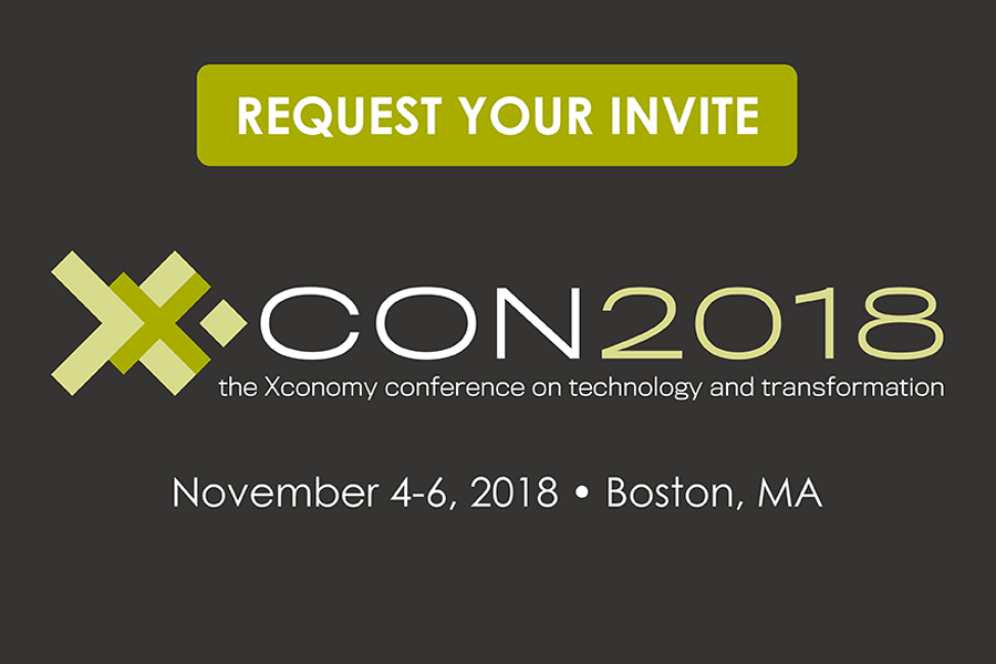 Announcing XCON 2018: A Conference on Technology and Transformation
