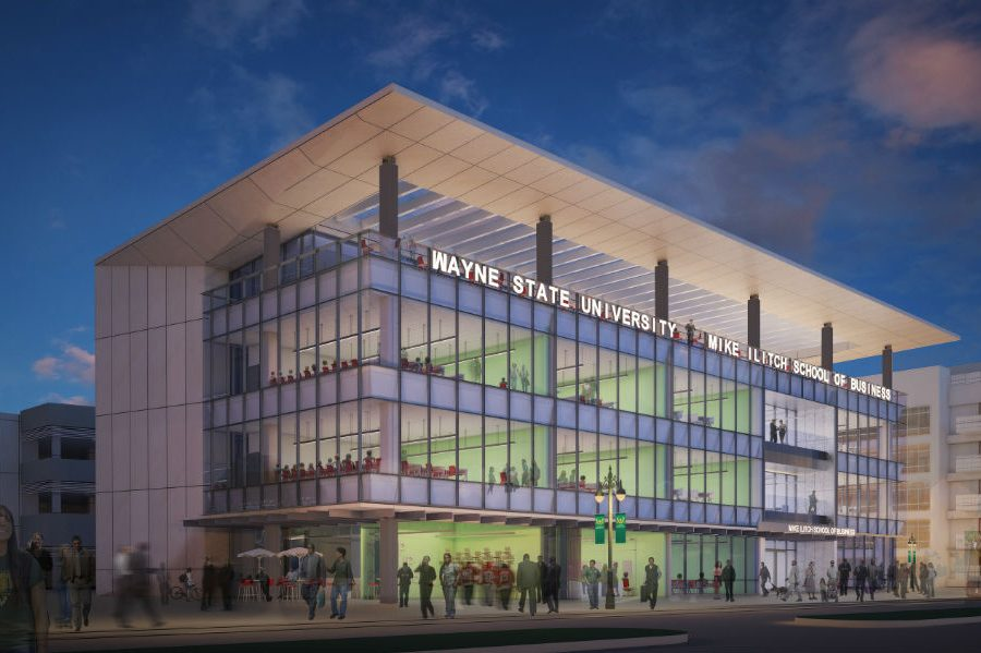 Xconomy: Wayne State Celebrates the Opening of $40M Ilitch School of