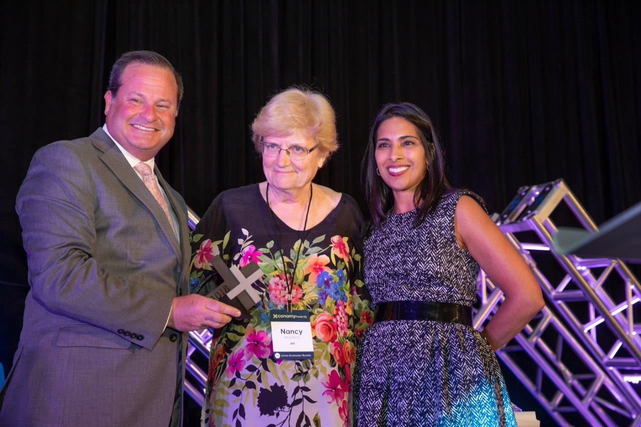 Nancy Hopkins Receives Lifetime Achievement Award