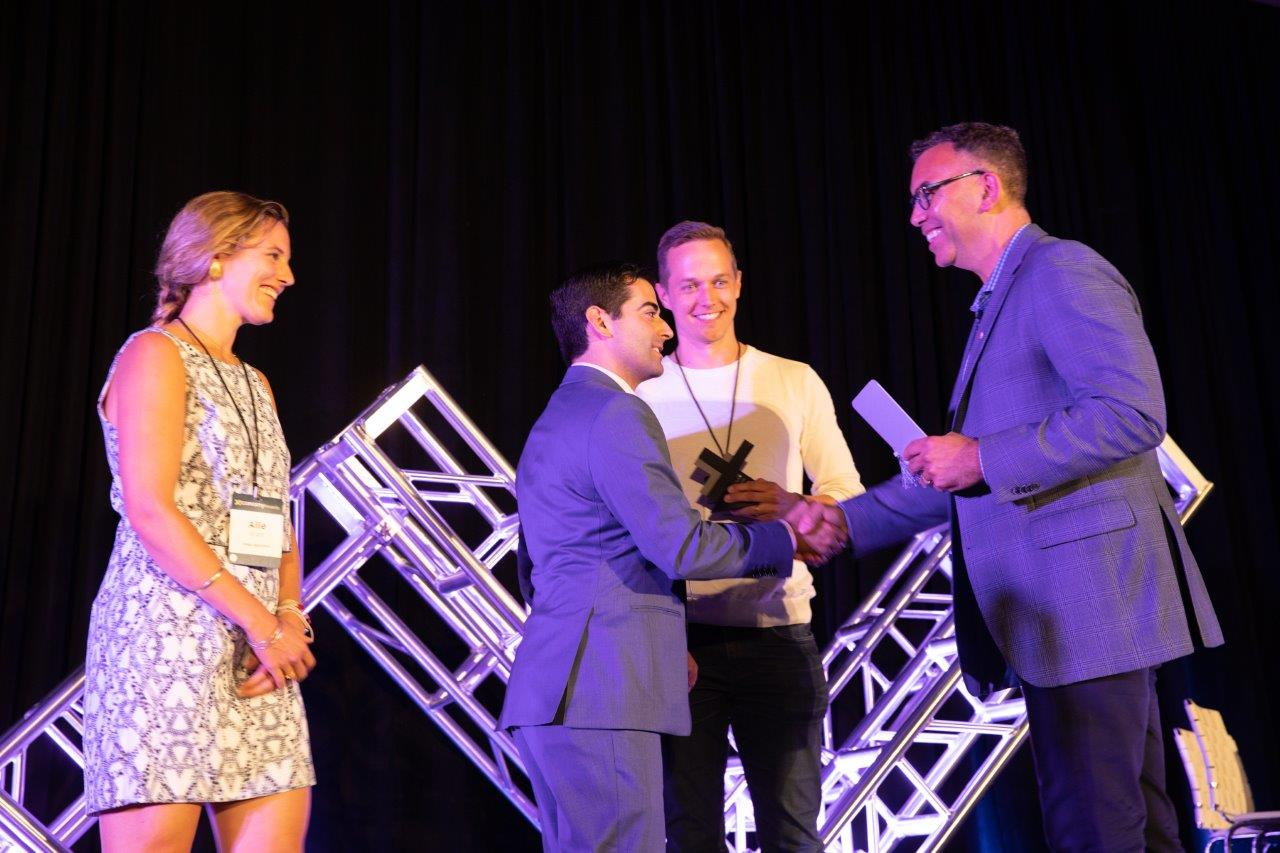 Indigo Ag Accepts the Startup Award