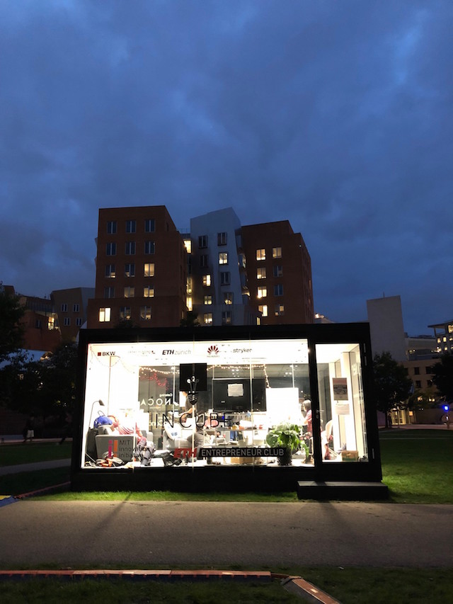 InCube at MIT, September 2018
