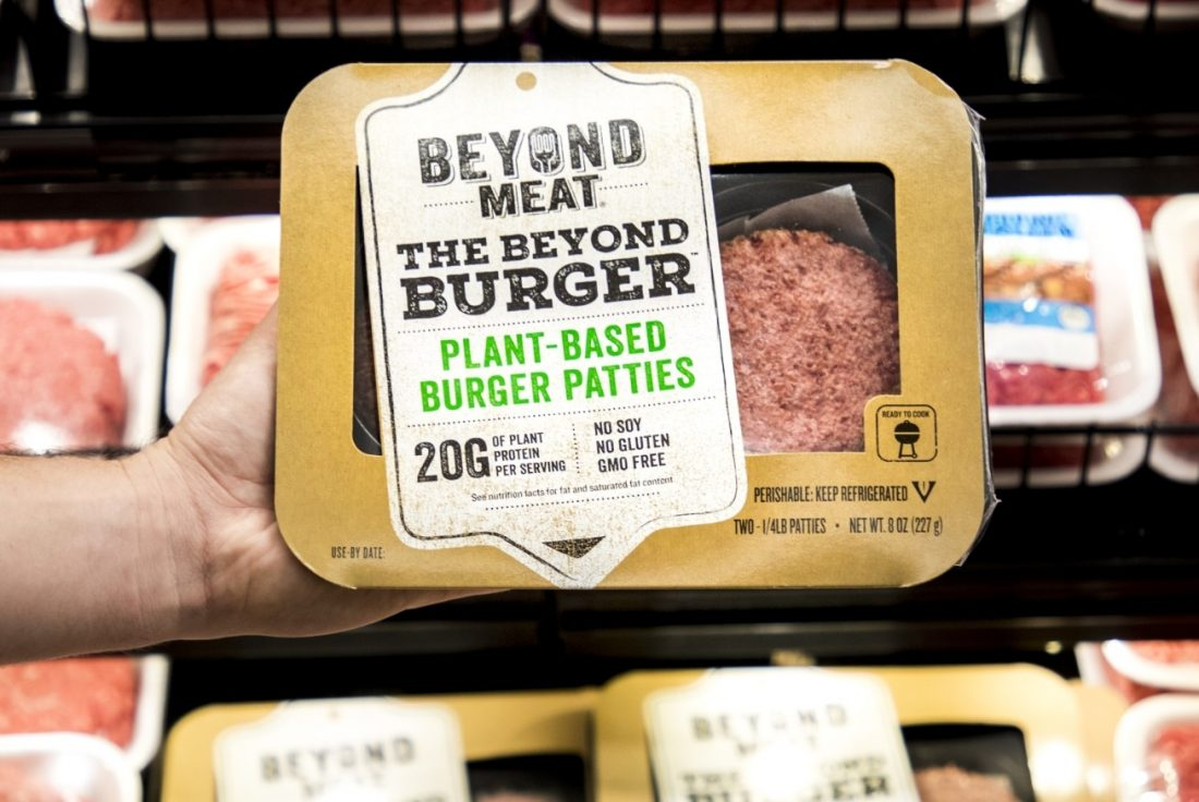 379227Plant-Based Burger Maker Beyond Meat Cooks Up Plans for an IPO