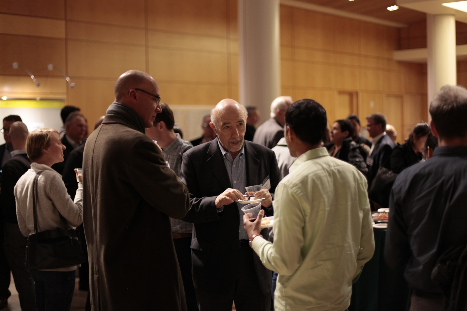 Networking at The Next Generation event