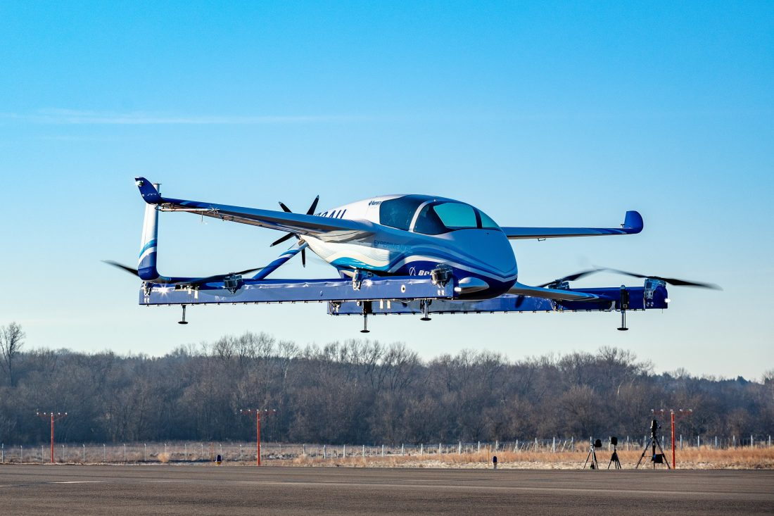 Air Taxis Are on the Horizon with Boeing's Test of Autonomous Plane