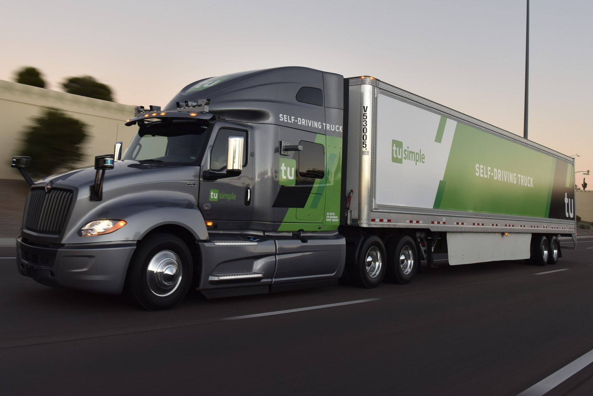 TuSimple Self-Driving Truck
