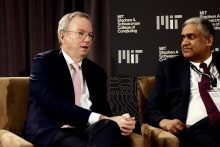 Ex-Google CEO: New MIT College Could Help Shrink A.I. Talent Gap