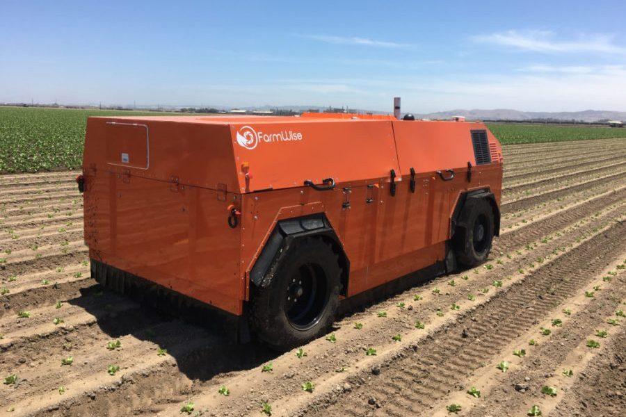 FarmWise and Roush Partner to Develop Robots That Weed Farm Fields