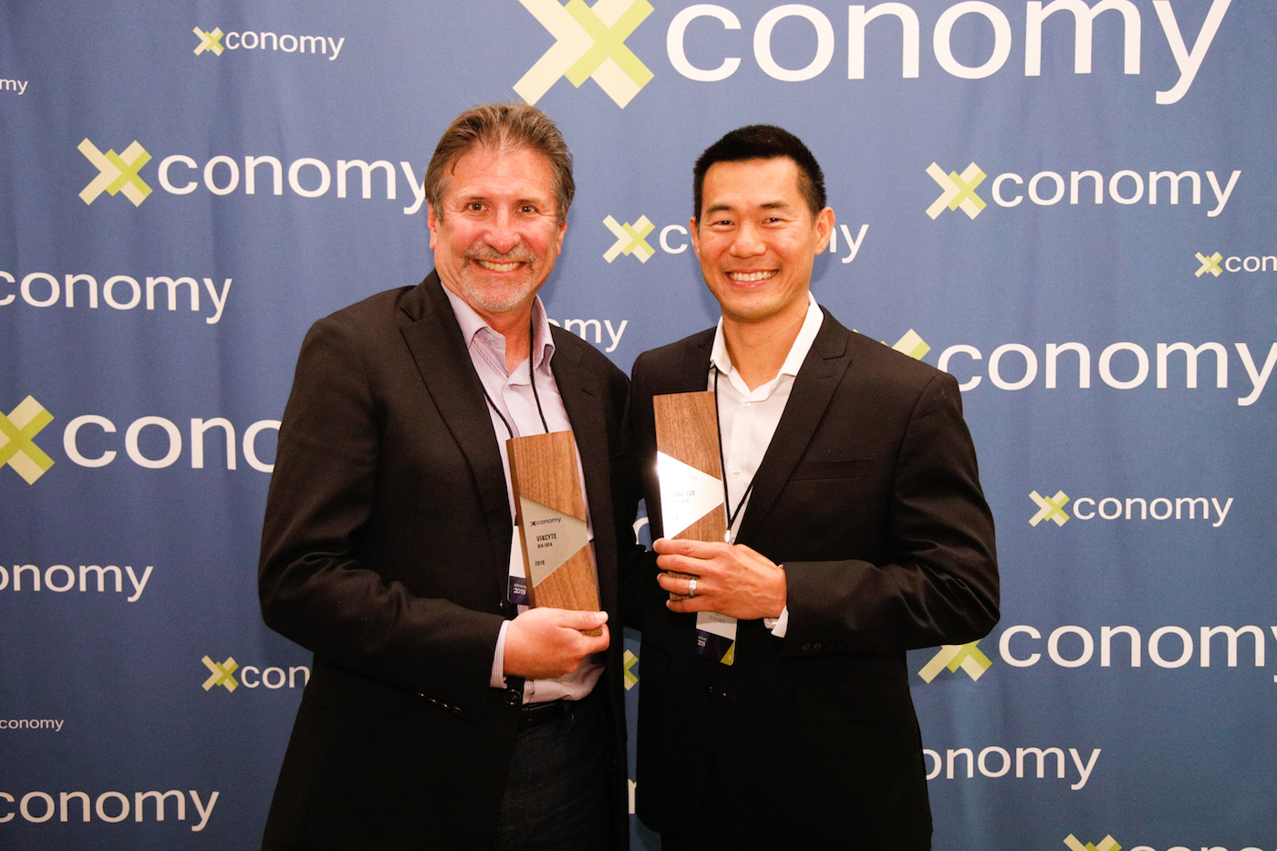 Big Idea Winners, Paul Laikind and Gene Yeo