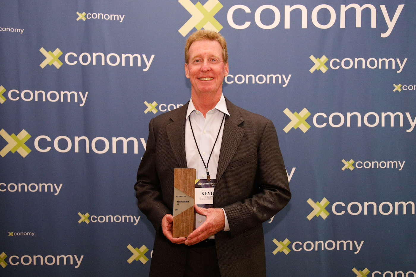 Kevin Gorman, CEO Award Winner