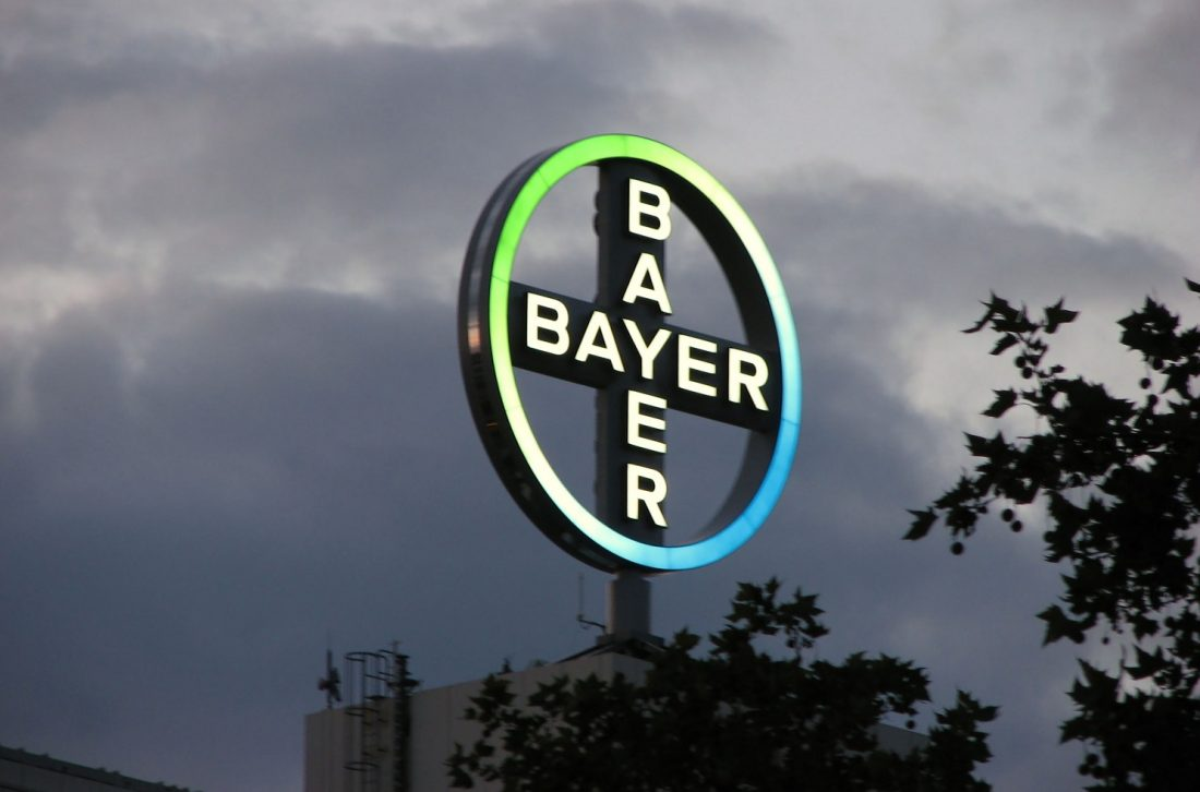 400418Bayer and Dewpoint Ink Deal for Drugs R&D at New Frontier of Biology