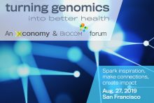 Turning Genomics Into Better Health on Aug. 27: Early Bird Rate Ends Soon