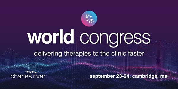 Charles River 3rd World Congress: Delivering Therapies to the Clinic Faster