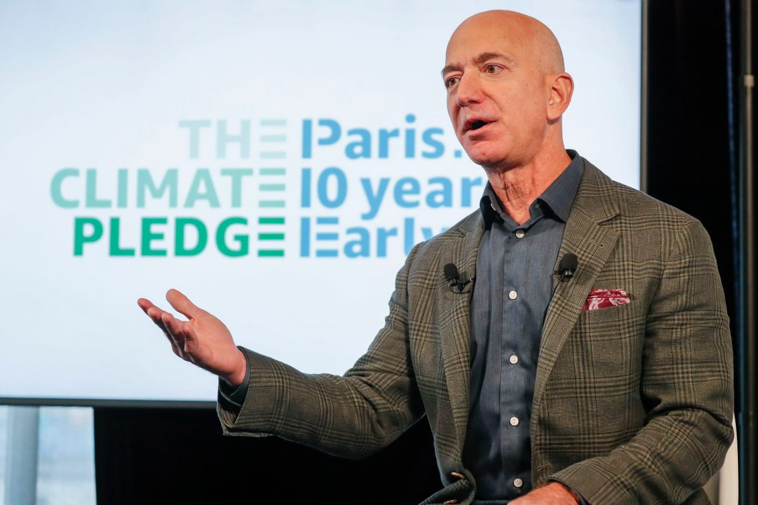 398357Amazon Sets Electric Vehicle, Carbon Footprint Goals Amid Criticism