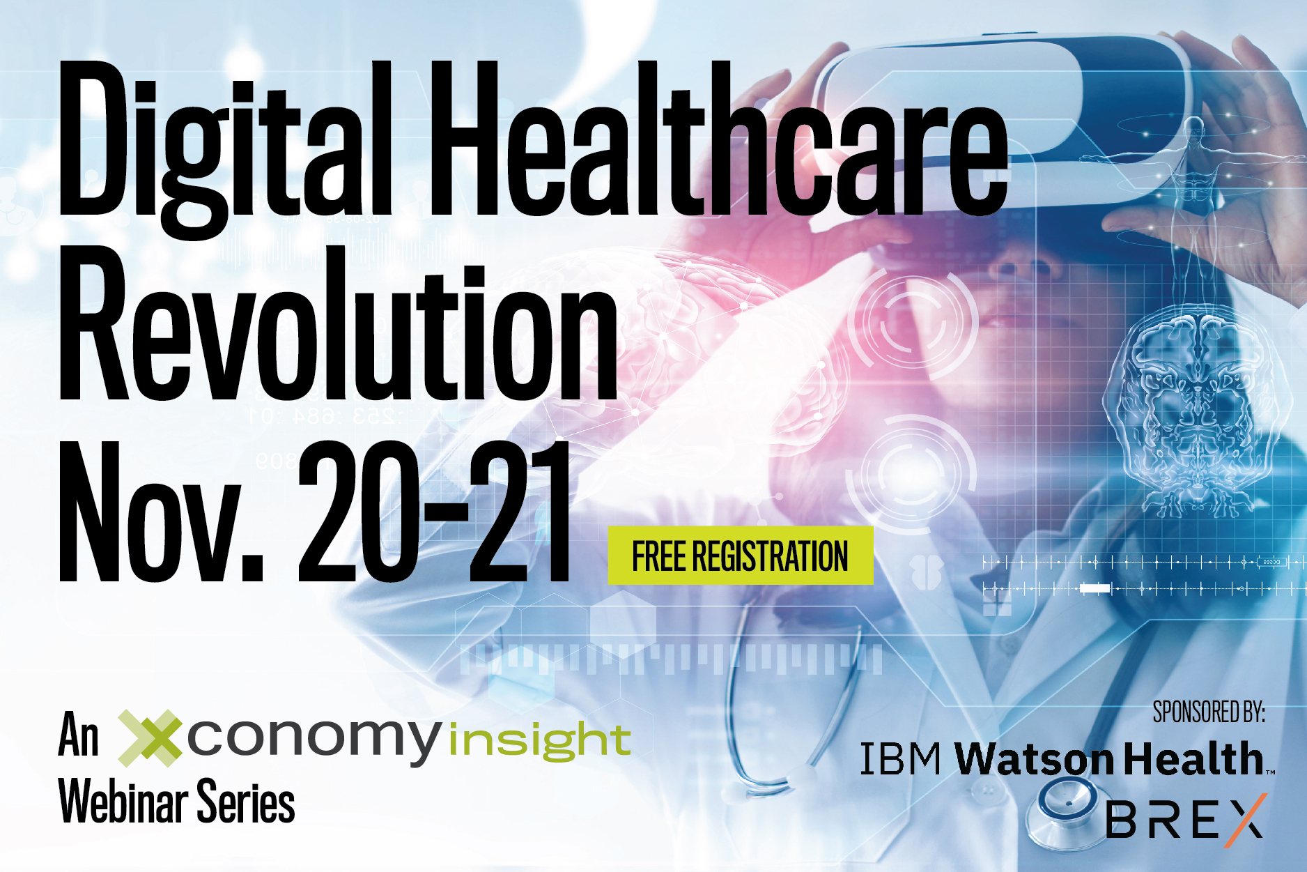 Digital Healthcare Revolution Webinar Series