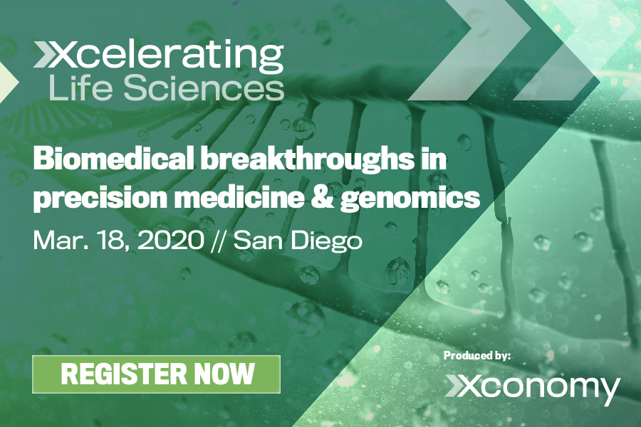 402261Event Announcement: Xcelerating Life Sciences San Diego