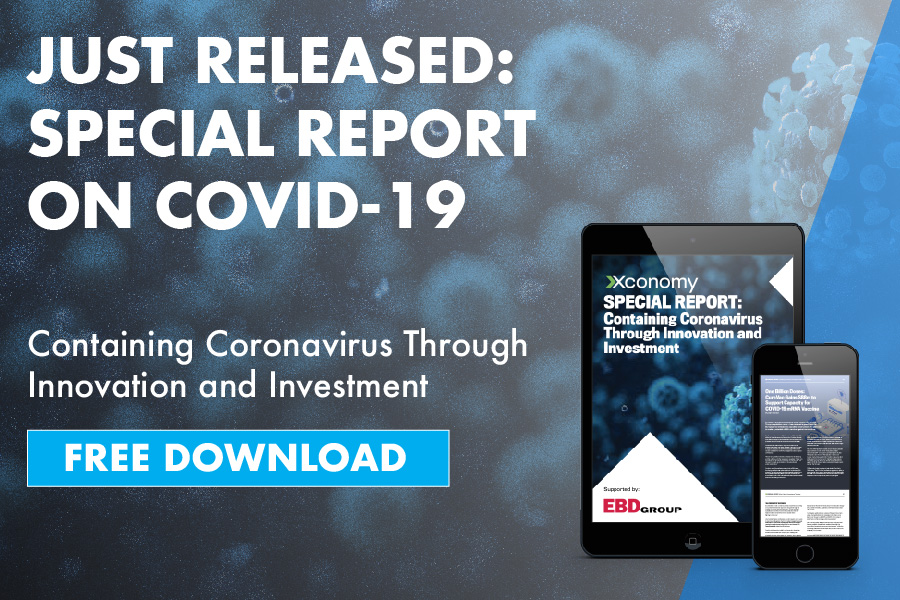 405301Xconomy Releases Coronavirus Special Report on Containing the Pandemic Through Innovation & Investment