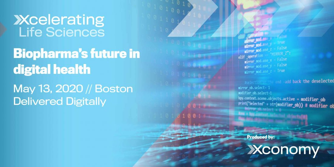 Join us this Wednesday for Xcelerating Life Sciences: Biopharma's Future in Digital Health