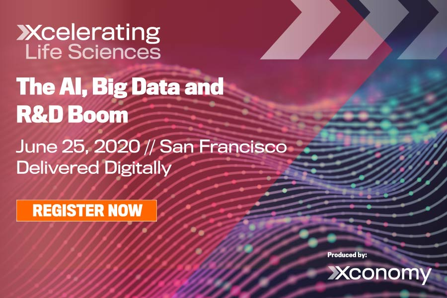 407597Early Bird Sale Ends Friday, June 5 for Xconomy's AI & Drug Discovery Online Forum and Networking Conference