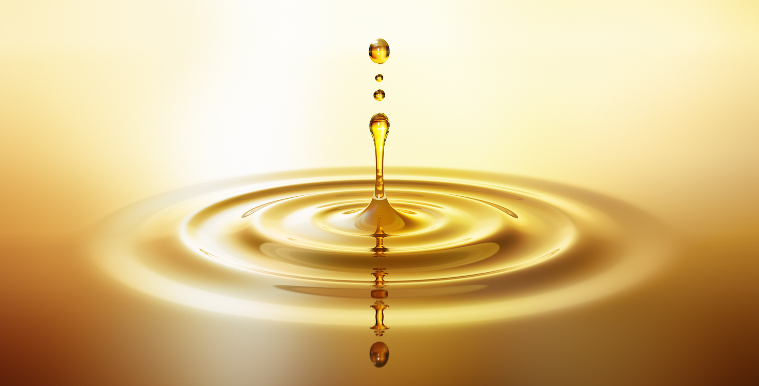 Drop with ripples